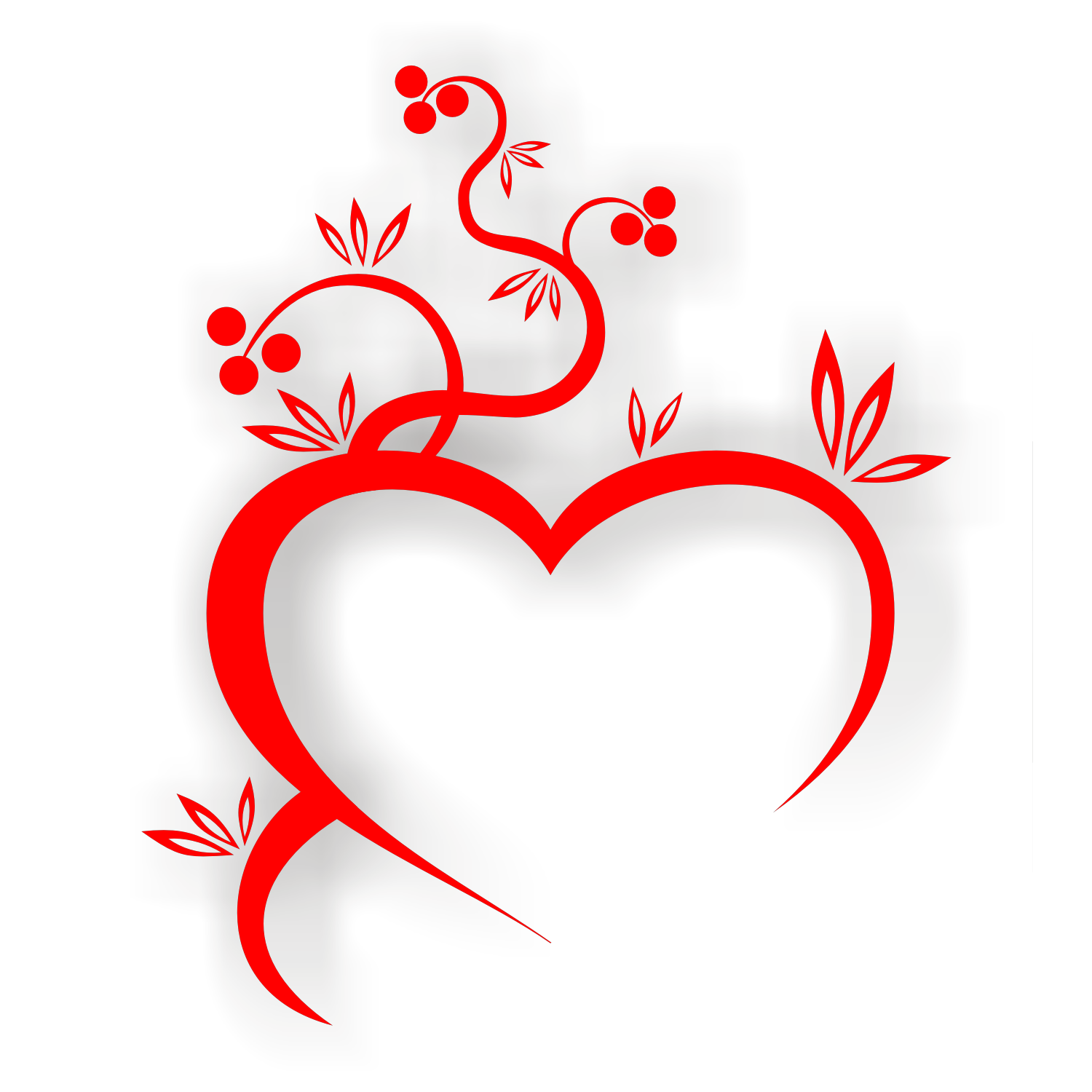 Vector for free use: Heart vector