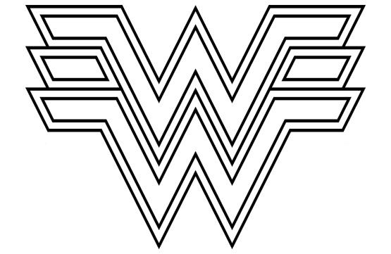 Free Wonder Woman Font ClipArt