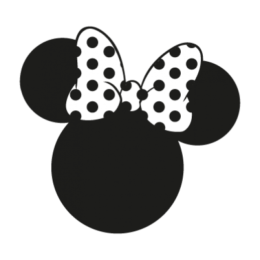 Minnie Mouse Silhouette Clipart Best