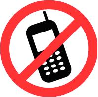No Mobile Phone Signs - ClipArt Best