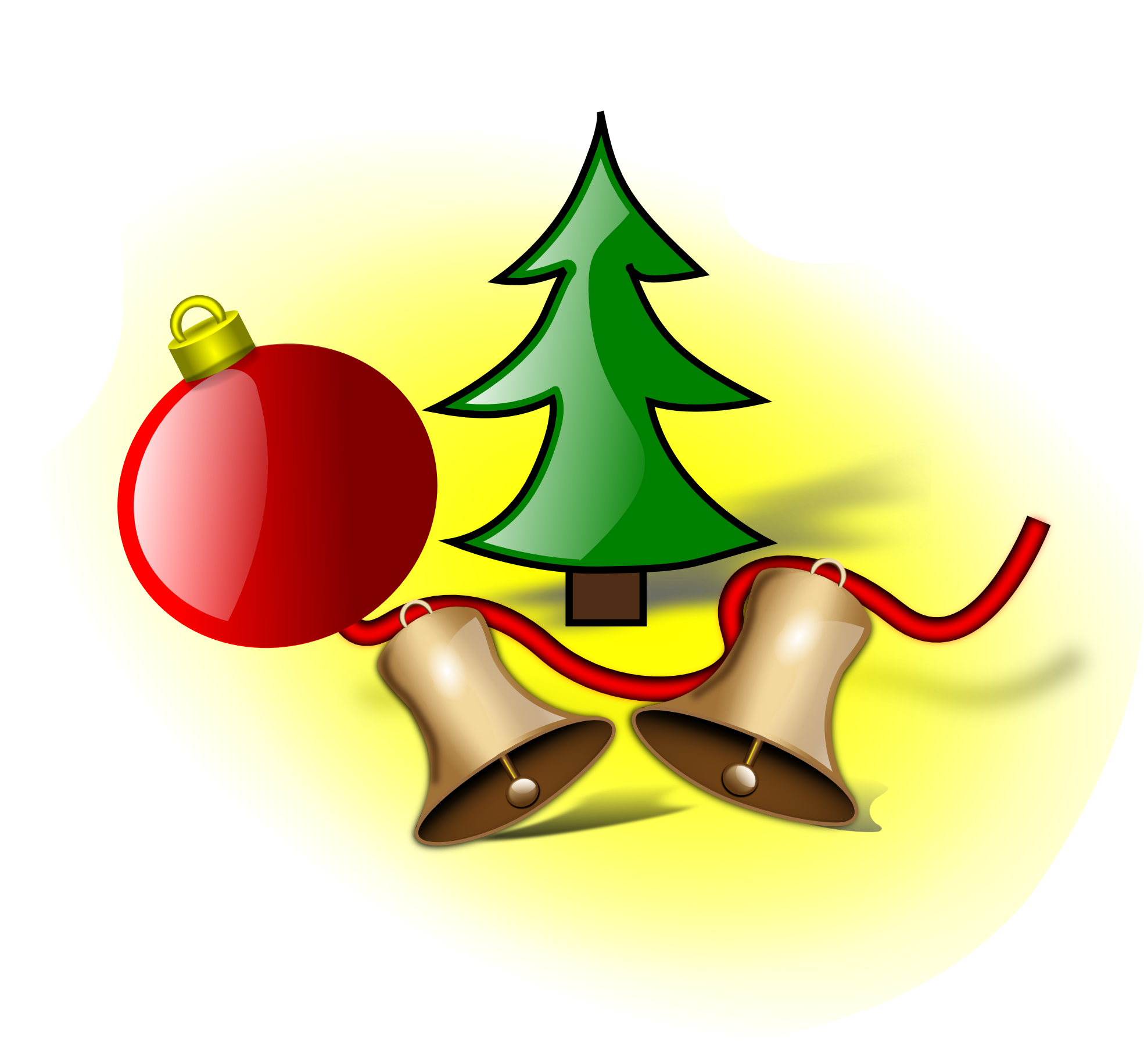 Christmas bells clipart best