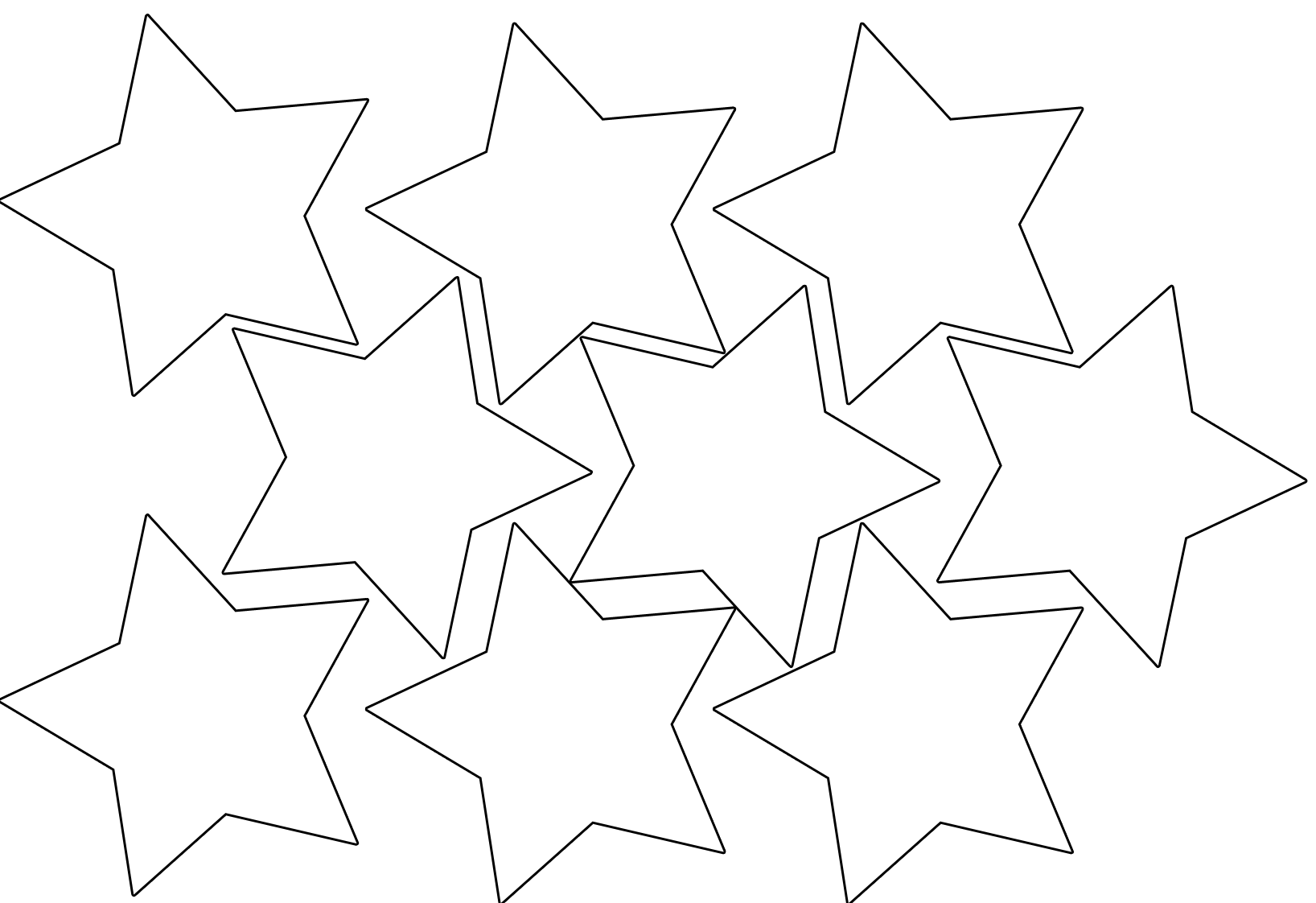Displaying 16> Images For - Star Shapes To Cut Out...