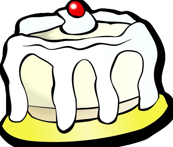 White Cake clip art Free Vector - ClipArt Best - ClipArt Best