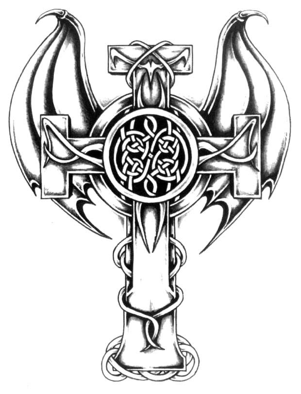 Crosses 1 9 Cross Tattoo Design Art Flash Pictures Images