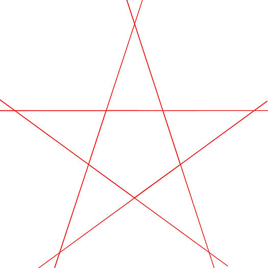Star Outline Drawing to Draw a Perfect Star 13