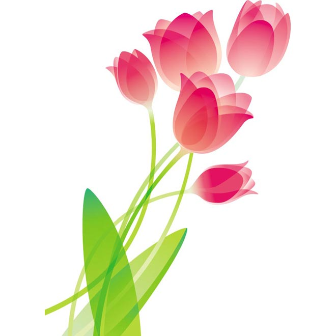 vector clipart flowers - photo #11