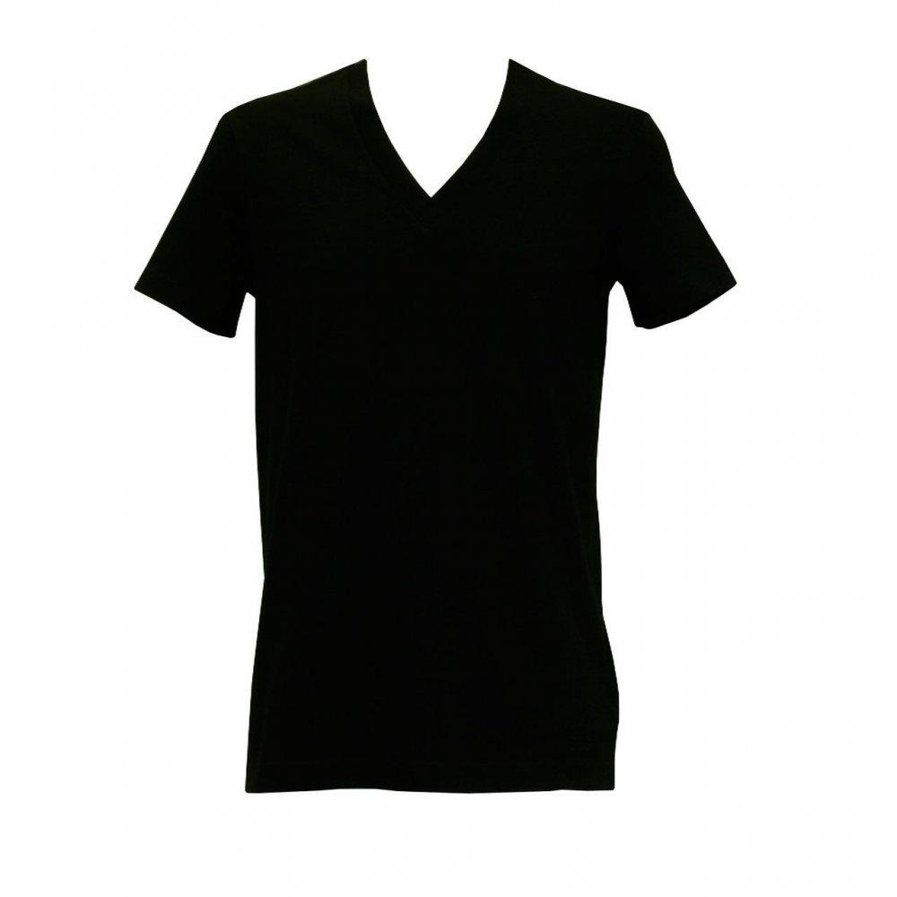 Best Photos of Black V-Neck T-Shirt Template - V-Neck T-Shirt ...