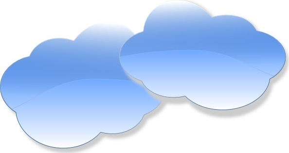Blue sky and clouds clip art free vector download (212,755 Free ...
