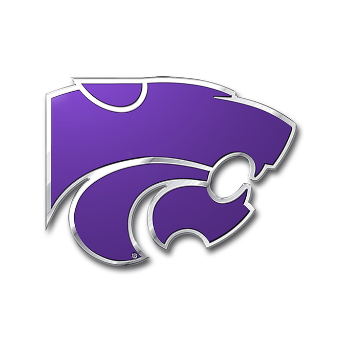 Kansas State Wildcats Color Emblem, Car or Truck Decal | Team ProMark
