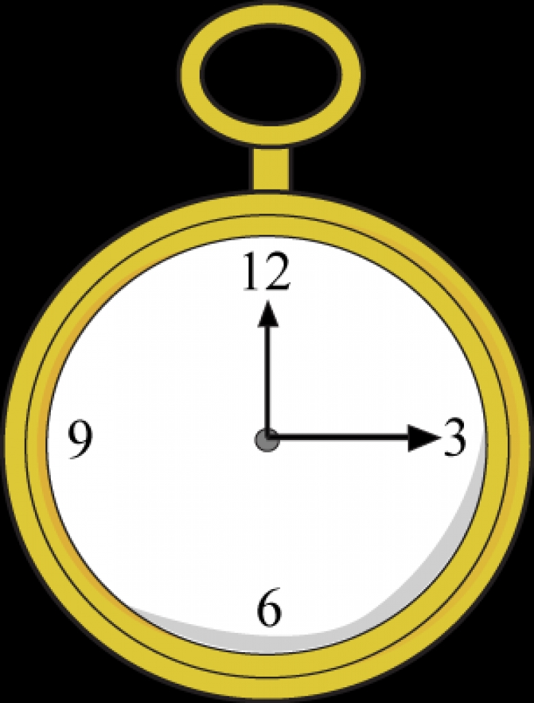 pocket watch clipart best