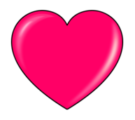 pink heart outline clipart - Clipground |Pink Heart Outline Clipart