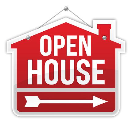 Open House Clip Art Free