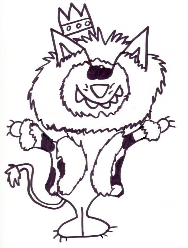 Best Photos of Willie Wildcat Coloring Pages - Kentucky Wildcats ...