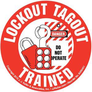 J. Keller Lockout Tagout Clipart...