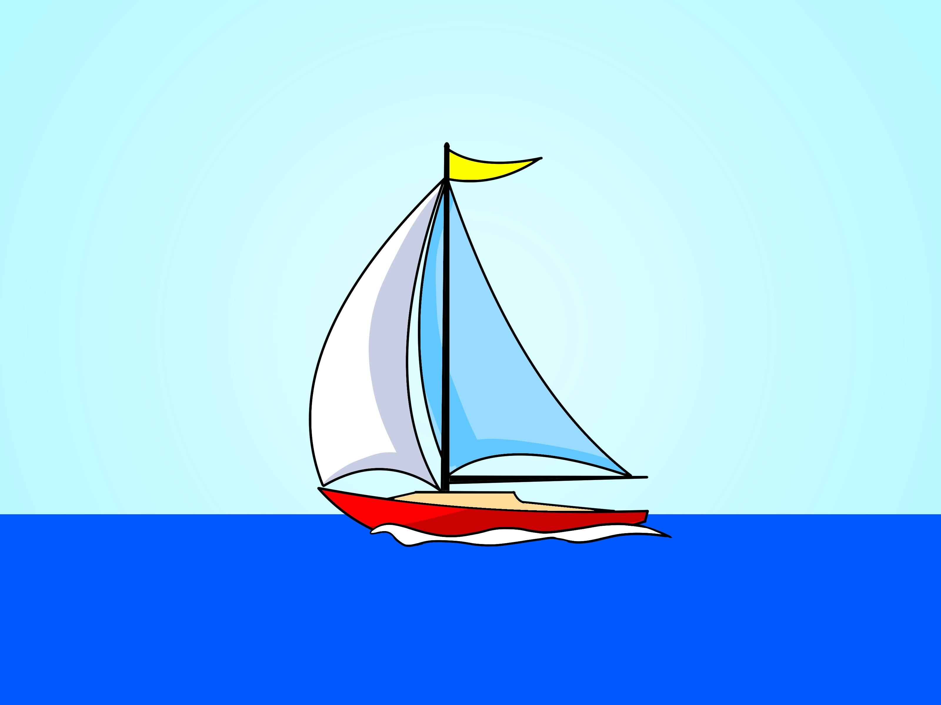 Sail Boat Drawings - ClipArt Best