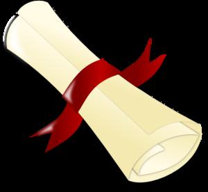 Diploma [crimso... Diploma Scroll Vector