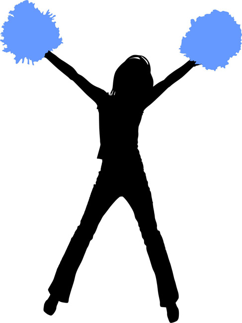 11 cheerleader silhouette images free cliparts that you can download ...