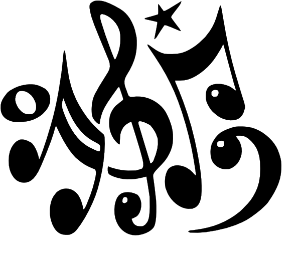 Music Note Drawings