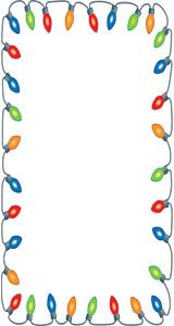 Christmas Light Border Clip Art - ClipArt Best