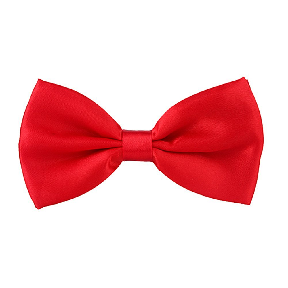 Red - Bow Ties / Bow Ties & Cummerbunds: Clothing