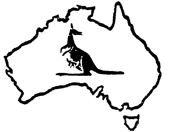 Line Art Limited : Australia line drawing clipart best