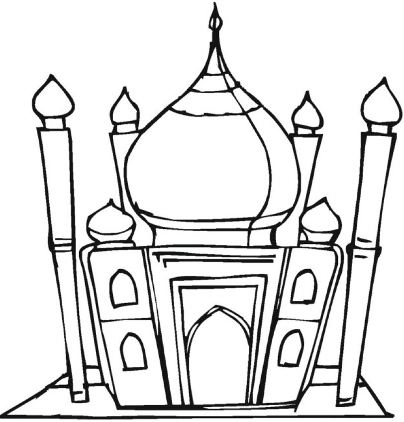 Mosque Clipart Black And White - ClipArt Best