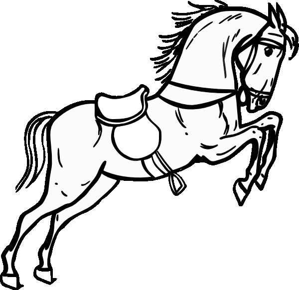 Horse Stencil - ClipArt Best