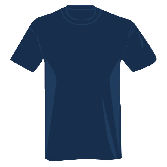 blue t shirt SVG