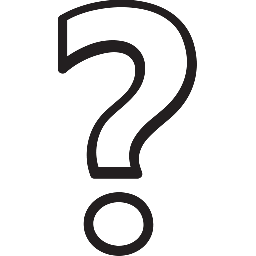 Question Mark Clip Art Black And White Png White Question Mark - ...