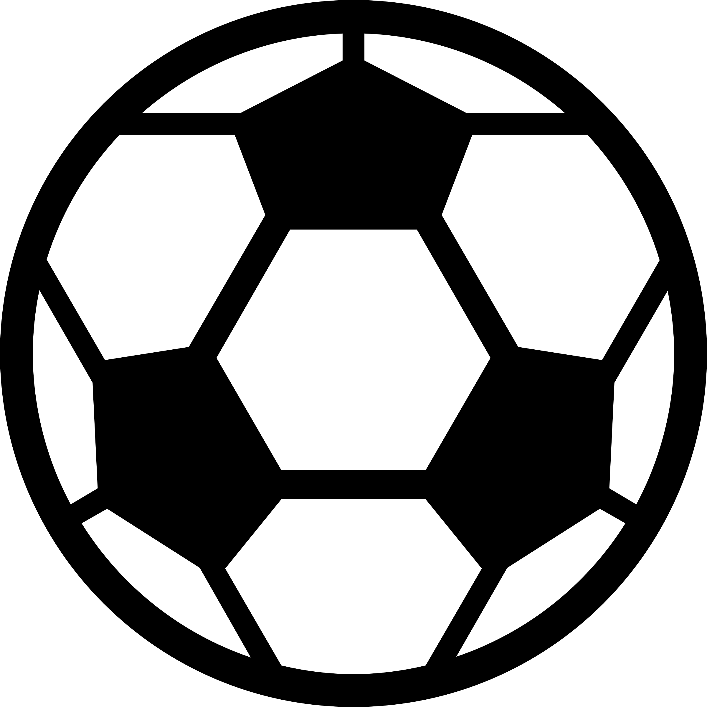 Soccer Ball coloring page Free Printable