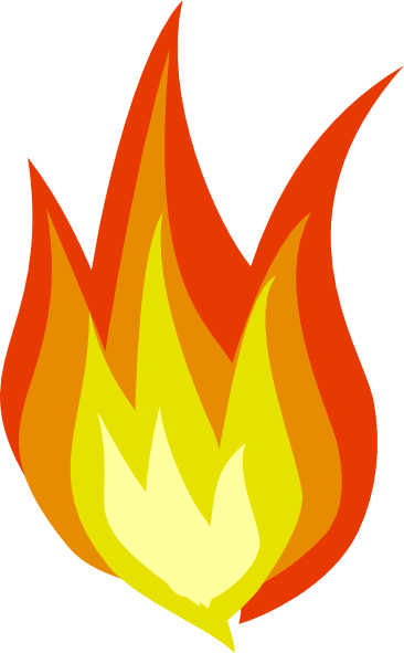 clipart flames of fire - photo #36