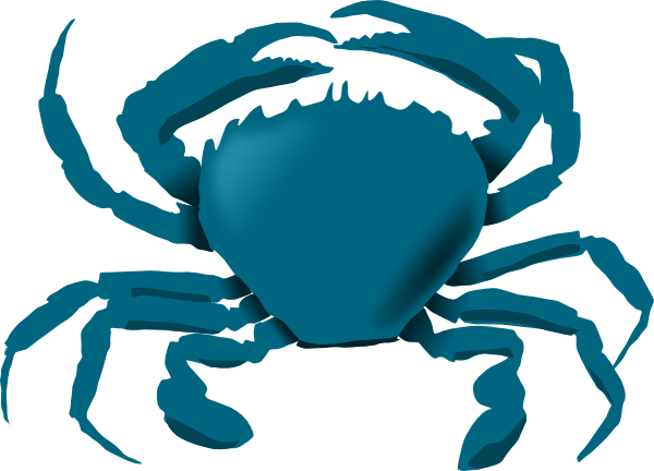 Blue Crab Clipart - Free Clipart Images