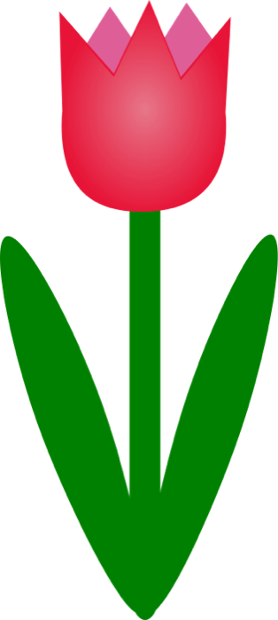 Red Tulip Clip Art - ClipArt Best