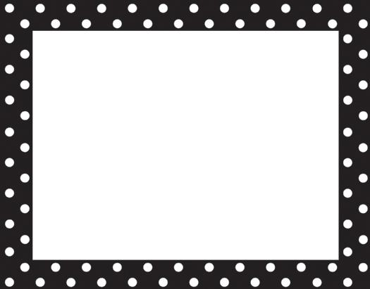 Red And Black Polka Dot Border Clipart - ClipArt Best ...