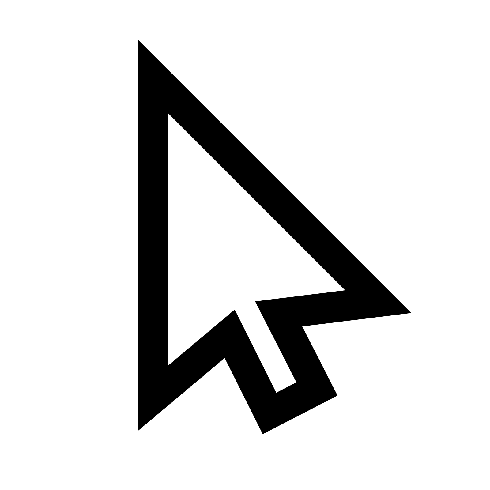 Cursor Icon - Free Download at Icons8