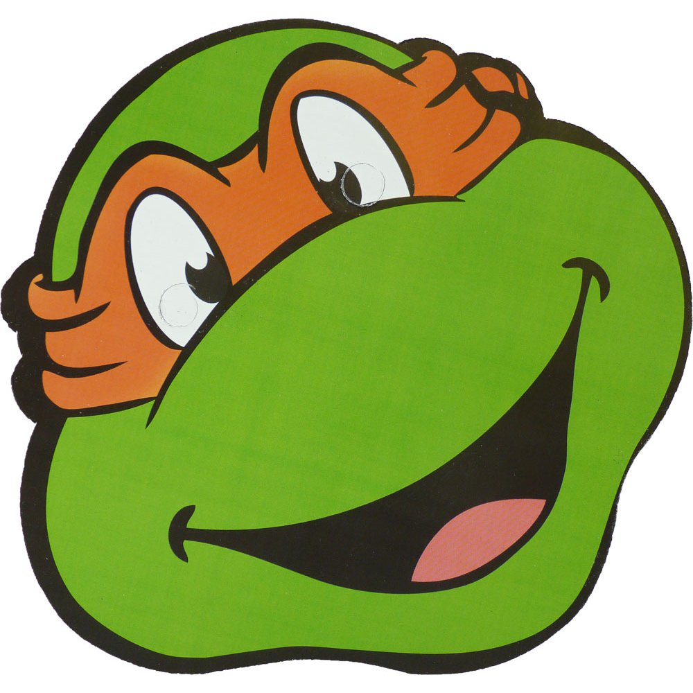 Ninja Turtle Face Template - ClipArt Best