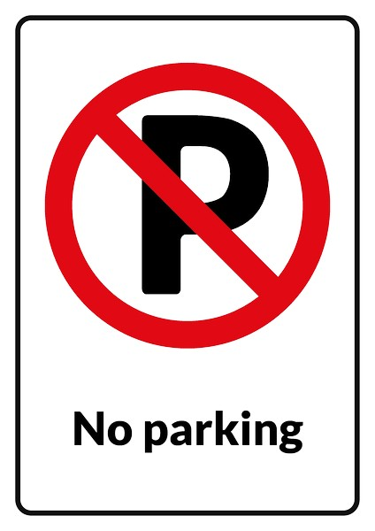 No parking sign template how to make no parking sign no for No parking signs template