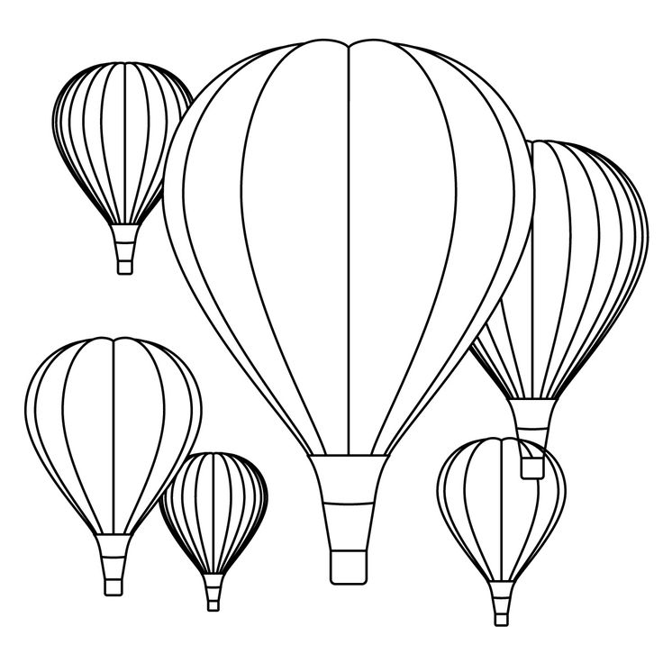 Free Printable Balloons Clipart Best