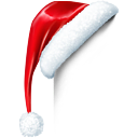 Christmas, Hat, Santa, Santas hat icon