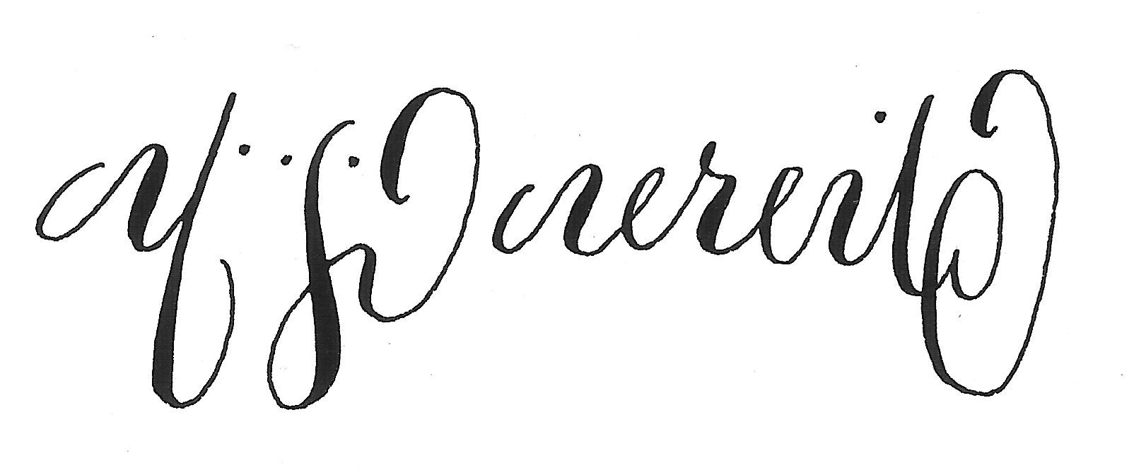 Calligraphy Tattoo With Design Clipart Best