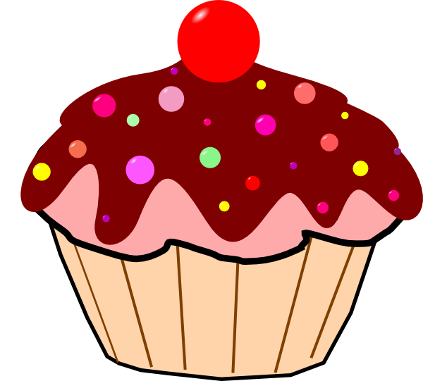 cute cupcake clip art clipart best Cute Cupcake Drawings cute cupcake clip art free white frosting