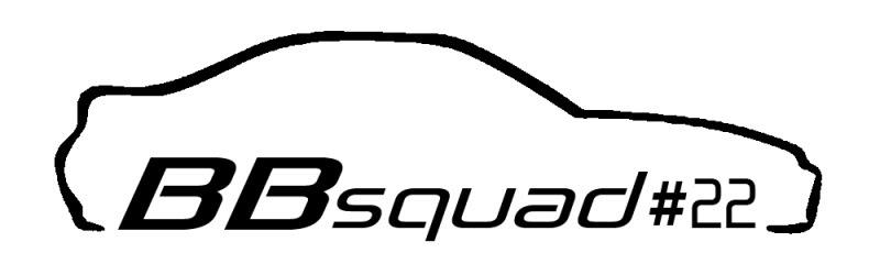 Cool car outline logo 19