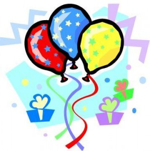 Cake And Balloons Clipart : Birthday Cake And Balloons Clipart - ClipArt Best