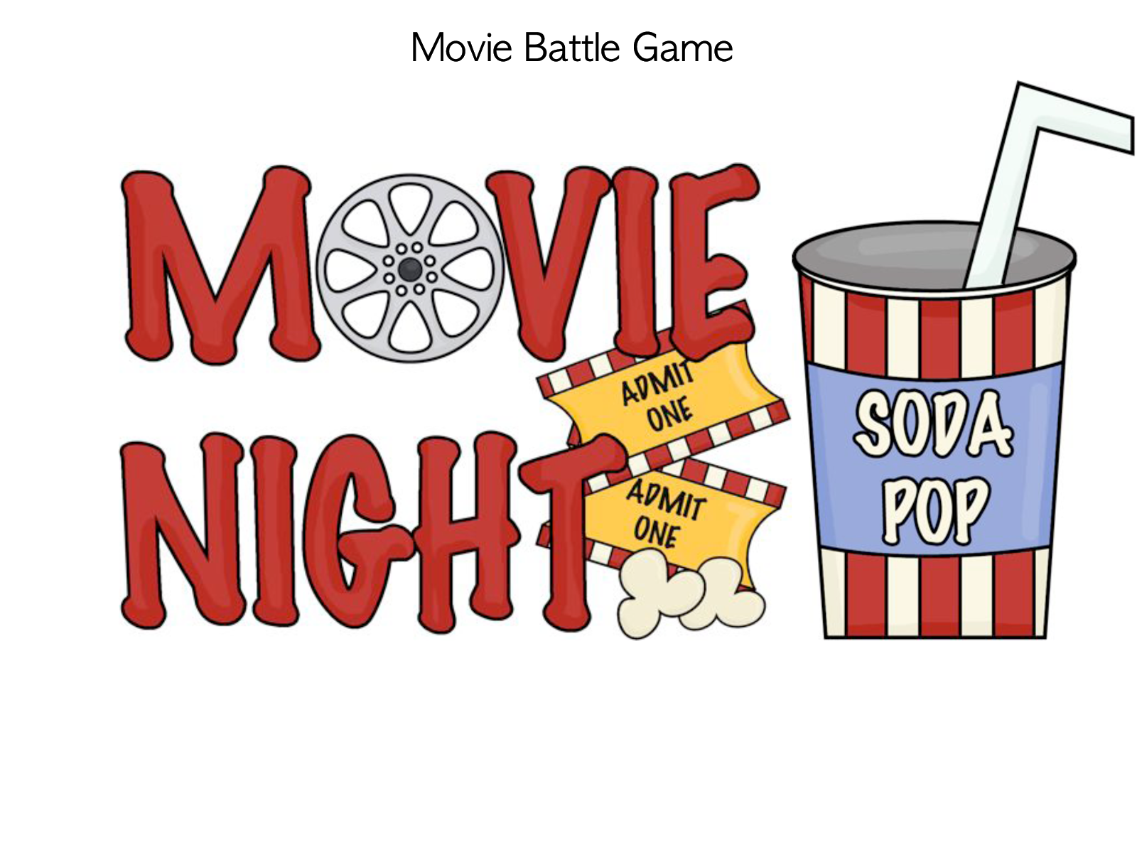 clipart of movie night - photo #12