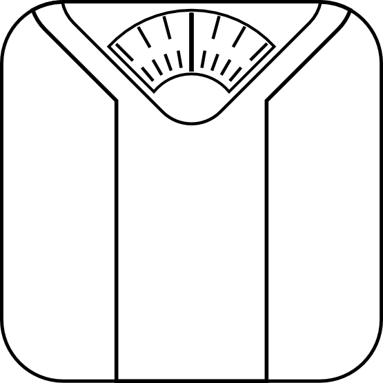 Free Restroom Cliparts Download Free Clip Art Free Clip: Clip Art: Bathroom Scale Black White Art ...