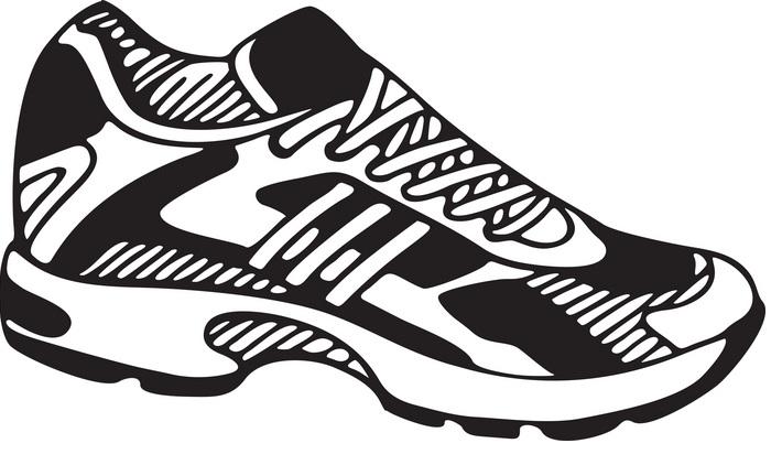 tennis shoes clipart best
