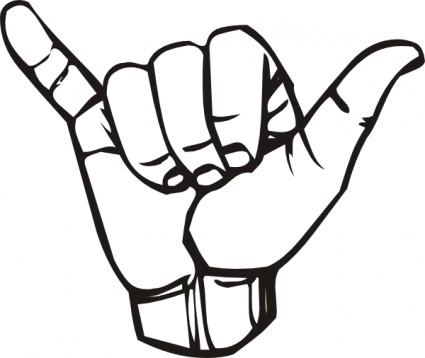i Love You Sign Language Clip Art i Love You Sign Language