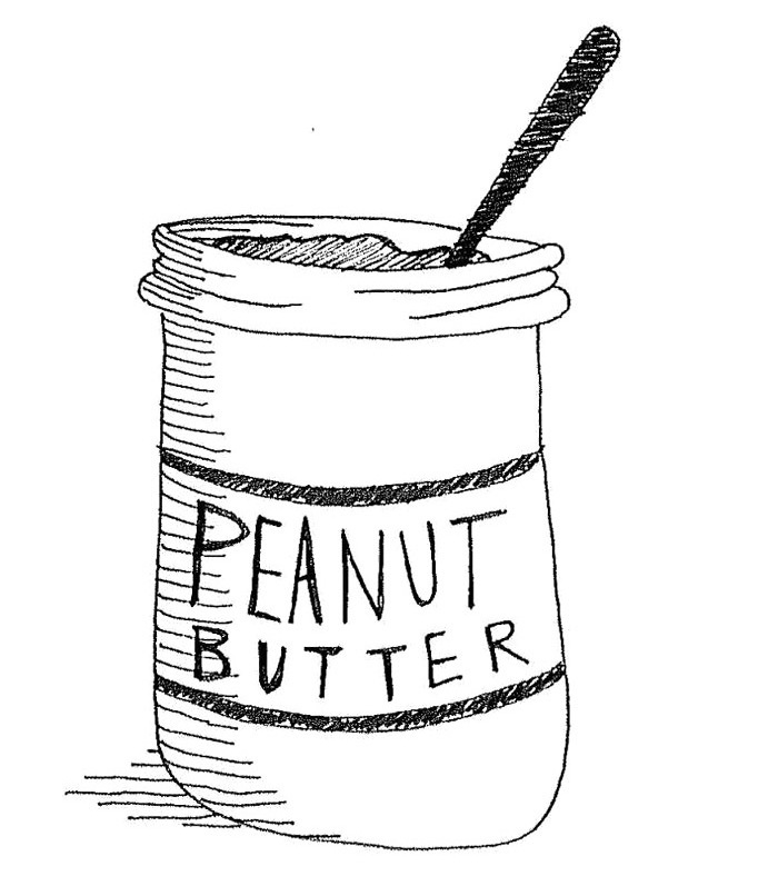 Peanut Butter And Jelly Coloring Pages - ClipArt Best