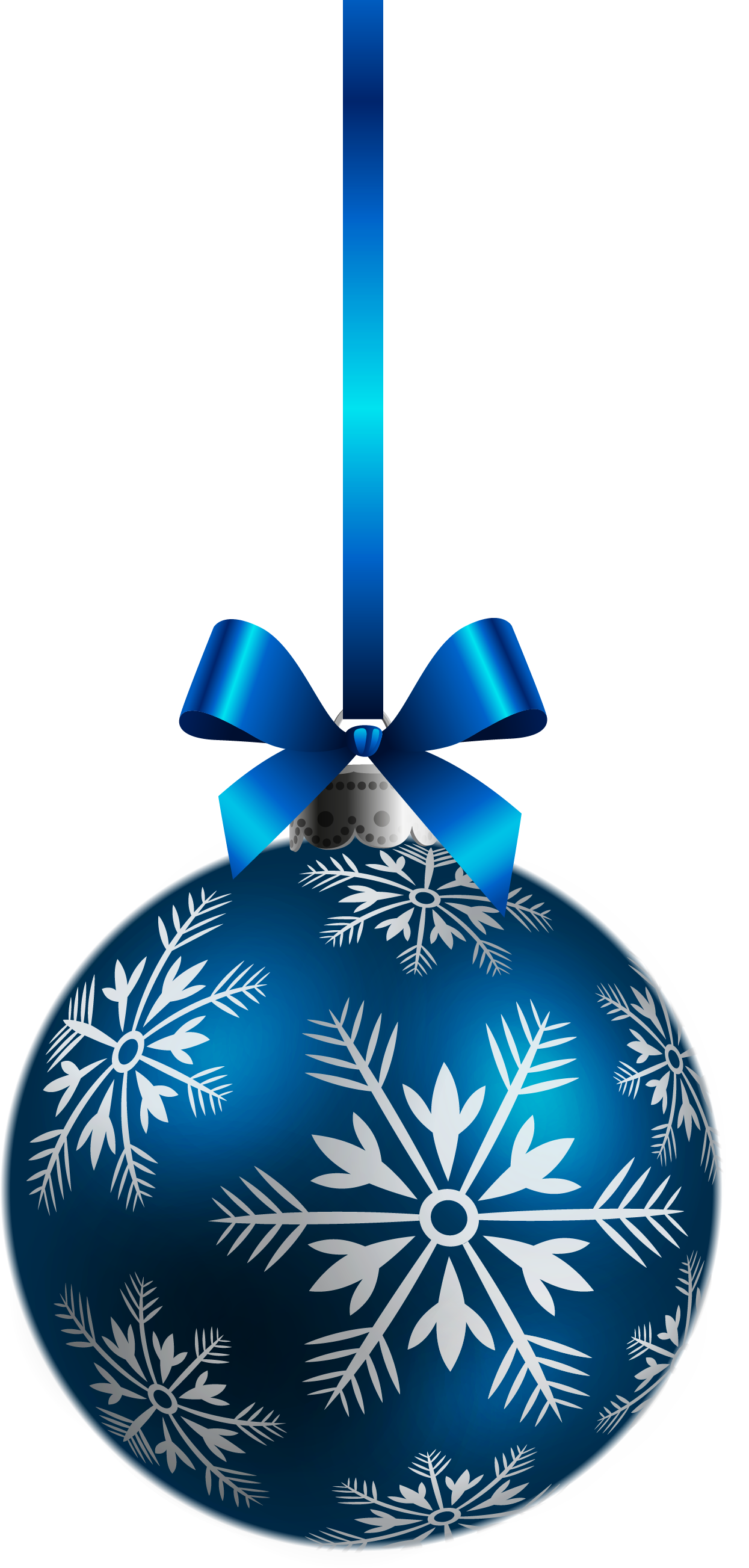 Blue Christmas Decorations - ClipArt Best