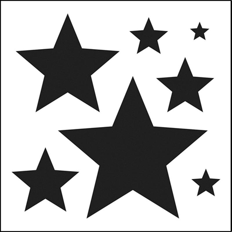 stars stencils clipart best